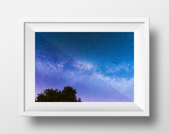 Glimpse of the Heavens / Milky Way / Astrophotography / Night Sky / Galaxy / Space / Wall Art /