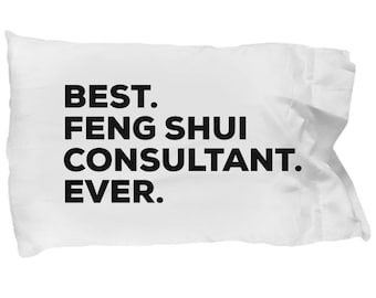 Feng Shui Consultant Pillow Case, Gifts For Feng Shui Consultant , Best Feng Shui Consultant Ever, Christmas Present