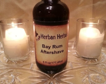 Men's cologne, aftershave, Bay Rum aftershave, all natural aftershave