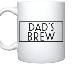 Personalised Fathers Day Mug - Dad's Brew