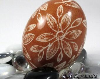 Pysanky, Pisanki, Ukrainian Egg, Polish Easter Egg, Lithuanian Egg, Easter Egg, Ukrainian Easter Egg, Scratched Egg, Pysanky Egg, Brown