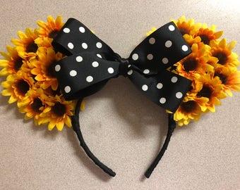 Sunflower Disney Ears