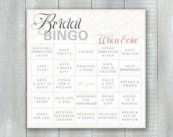 Bridal Bingo PDF