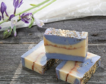 Lavender and Wildflower Honey Soap - Irish Soap - Lavender Soap - Soap - Handmade Soap