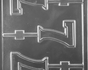 "LOPL-056 - Number ""7"" Chocolate Lollipop Mold"