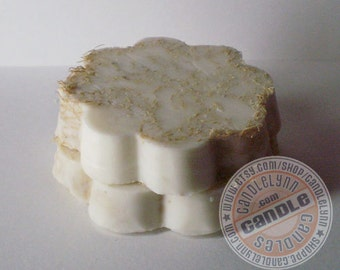 Triple Butter Loofah Soap Scrub - Benefits of Mango, Cocoa and Shea Butters