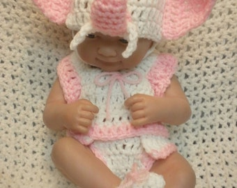 14 inch Doll clothes ,9 Inch Doll clothes,Elephant set,Included are hat,shirt,Bottoms and shoes