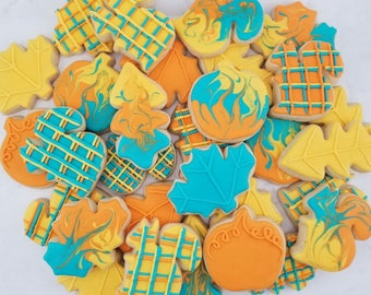 Autumn Breeze Sugar Cookies