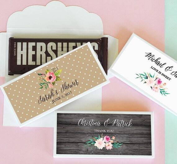 custom chocolate bars wrappers