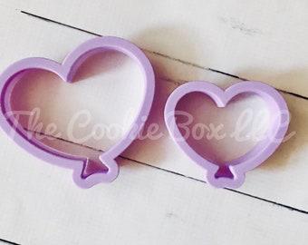 Chubby heart balloons