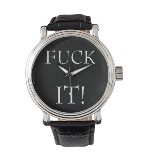 F' It! vintage style watch