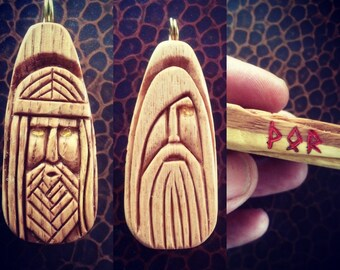 ODIN THOR norsw asatru viking rune amulet