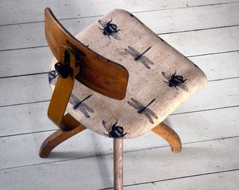 Vintage 1950s Insect Desk Chair