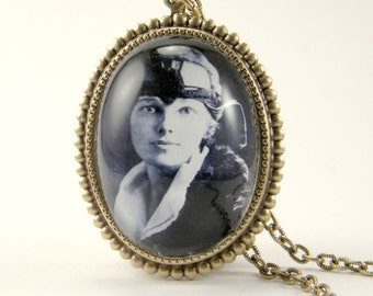 Amelia Earhart The Aviator Deluxe Necklace