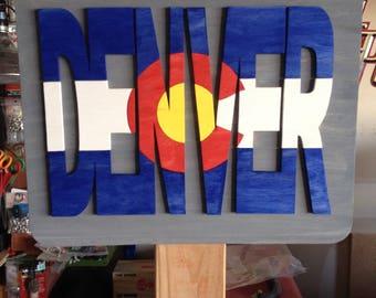 Denver - Colorado Sign