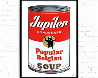 BELGIAN CAMPBELL'S SOUP Poster