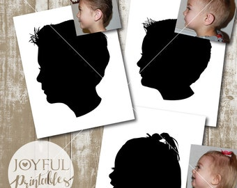Custom silhouette made from YOUR photo