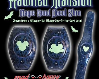 Haunted Mansion 2.0 Magic Band Decal Set