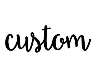 Custom {Burp Cloth Set}