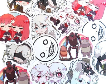 Nier:Automata sticker set