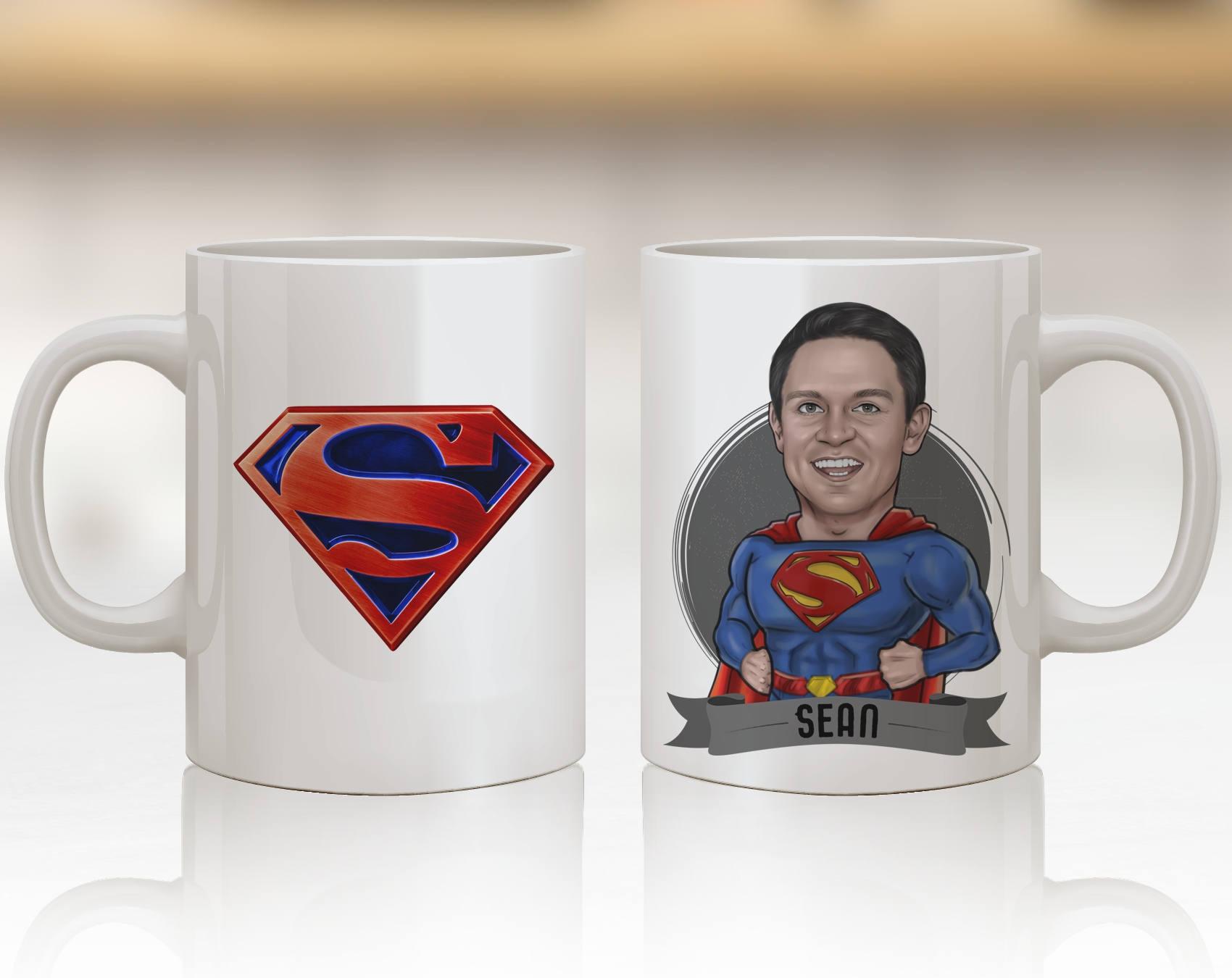 Superman Gift Ideas Superman Art Personalized Superman Mug