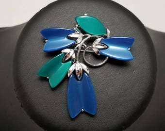 LISNER Blue & Aqua Thermoset Pin