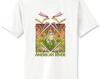 American River Frog TShirt