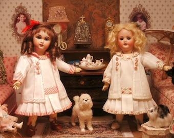 Bleuette pattern for doll clothing - COSTUME TAILLEUR La Semaine de Suzette 1910