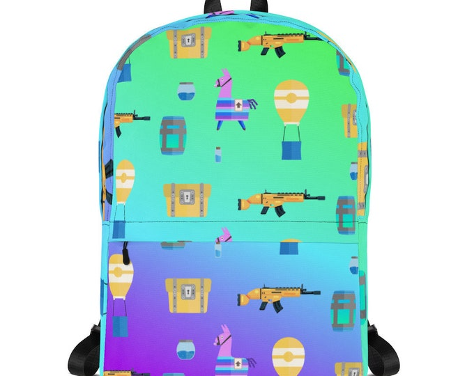 Featured listing image: Fortnite Pattern Gradient Backpack