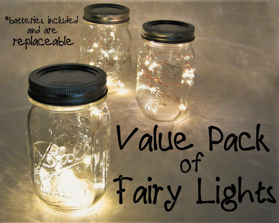 zoom VALUE PACK Fairy Lights with replaceable