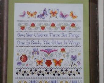 Love Takes Flight Cross-stitch kit