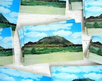 Vintage Bend Oregon Postcards   Lava Butte   Pacific Northwest   Volcano   2017 Eclipse Location   Vintage Wedding Invitations