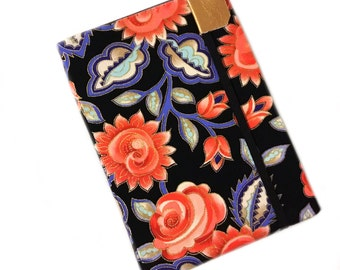 Kindle Cover - Precious Posies - floral kindle paperwhite hardcover case - folk flowers eReader cover fits Kindle Touch - tech accessory