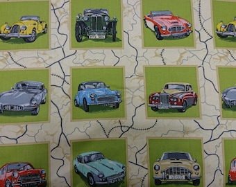 Classic Cars by Nutex Fabrics