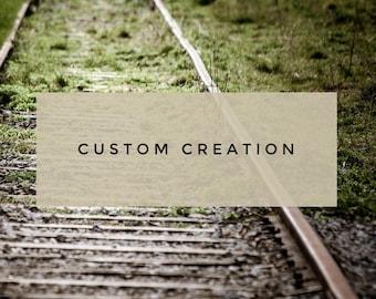 Custom Small Wood Sign