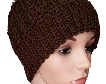 Cute brown hat