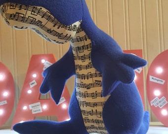 FOR BLUES DANCERS! Riff The Bluesasaurus Rex