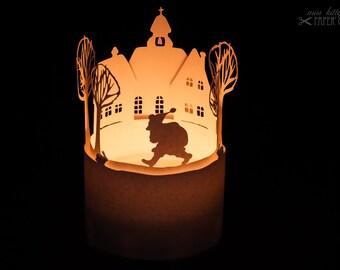 Craft Bow Light» Santa Claus comes «