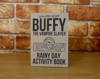 Buffy The Vampire Slayer Rainy Day Colouring & Activity Book