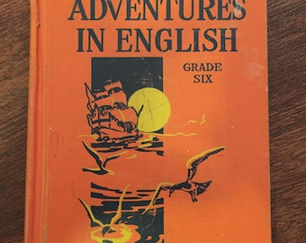 Antique Book: Adventures in English