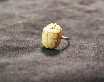 Vintage Egyptian Scarab Ring