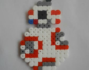 STAR WARS - BB8 decorative beaded iron - Pixel Art - Geek Art