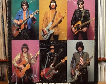 """Vintage Record NiCK LOWE - """"Pure Pop for Now People"""" Vinyl lp on Columbia Records - """"Jesus of Cool"""" 1978 Iconic Punk / New Wave Rock Vinyl"""