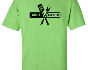 Grill Master Summer Fun Adult Unisex Tshirt
