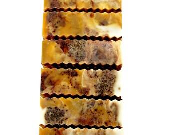 Vanilla Musk THREE BUTTER and ALOE Soap   Artisan Soap   Natural Soap   Small Gift   Spa Gift   Gift Under 10   3+ oz