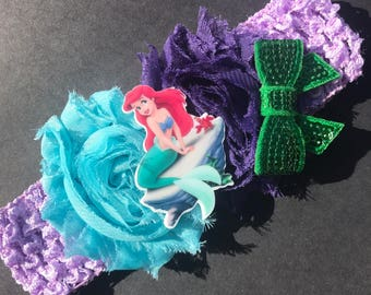 The little mermaid headband