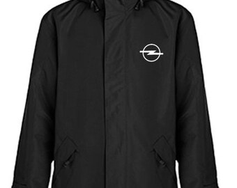 Opel Quilted Polyester Wind and Water Resistant Winter Jacket