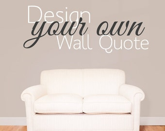 Elegant Quote Wall Decal | Etsy