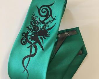 Fairy, Green Necktie