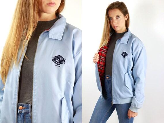 Lonsdale Jacket Bomber Jacket Lonsdale Vintage Blue Lonsdale Jacket Vintage Jacket Lonsdale Blue Jacket Bomber 90s Blue Jacket Lonsdale 90s